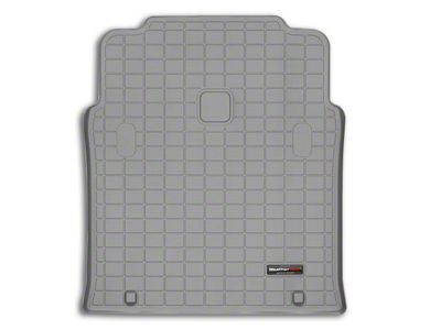 Weathertech DigitalFit Cargo Liner - Gray (04-06 Jeep Wrangler TJ Unlimited)