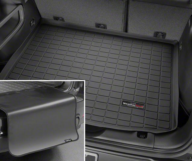 Weathertech DigitalFit Cargo Liner w/ Bumper Protector - Black (07-14 Jeep Wrangler JK 2 Door)