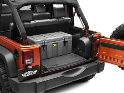 TJM Spacecase Storage Container - 30x15x15 in. (87-18 Jeep Wrangler YJ, TJ, JK & JL)