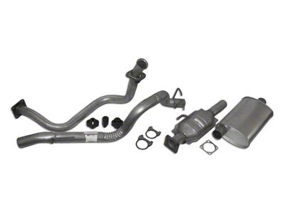 Crown Automotive Complete OEM Exhaust Kit (87-92 2.5L Jeep Wrangler YJ)