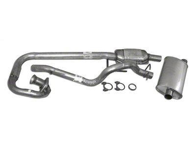 Crown Automotive Complete OEM Exhaust Kit (97-99 4.0L Jeep Wrangler TJ)