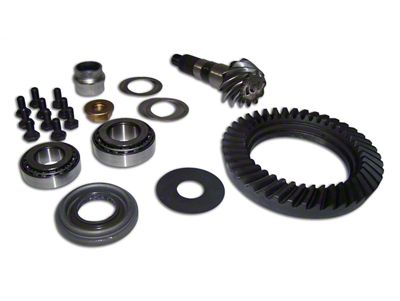 Crown Automotive Dana 30 Front Ring Gear and Pinion Kit - 4.10 Gears (97-06 Jeep Wrangler TJ)