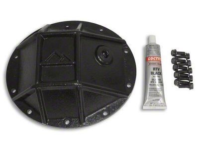 RT Off-Road Dana 35 Rear Axle Heavy Duty Rear Differential Cover - Black (87-07 Jeep Wrangler YJ, TJ & JK)