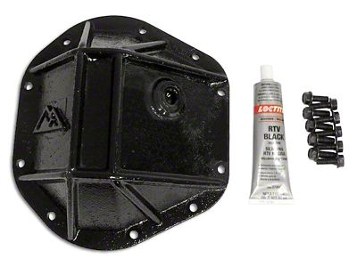 RT Off-Road Dana 44 Heavy Duty Differential Cover - Black (87-18 Jeep Wrangler YJ, TJ & JK)
