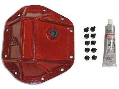 RT Off-Road Dana 44 Heavy Duty Differential Cover - Red (87-18 Jeep Wrangler YJ, TJ & JK)