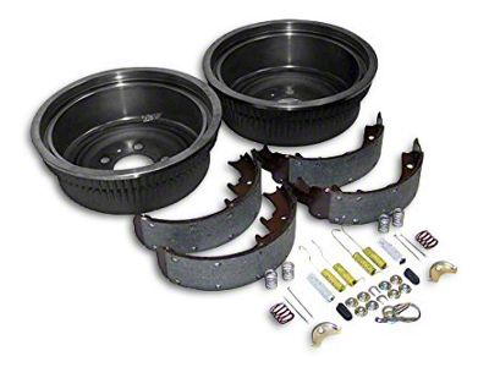 Crown Automotive Dana 44 Rear Axle Brake Drum Service Kit (87-90 Jeep Wrangler YJ w/ 10 in. Rear Drums)