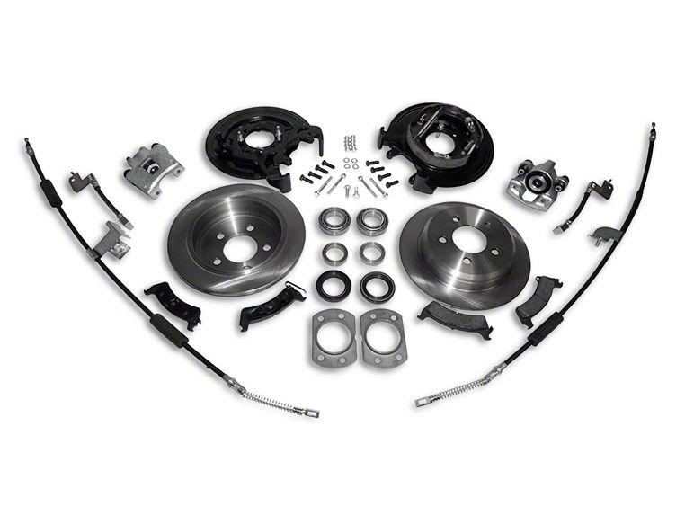 RT Off-Road Dana 44 Rear Axle Disc Brake Conversion Kit (97-06 Jeep Wrangler TJ w/o ABS)