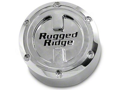 Rugged Ridge Center Cap For 17X9 Aluminum Wheels (07-18 Jeep Wrangler JK; 2018 Jeep Wrangler JL)