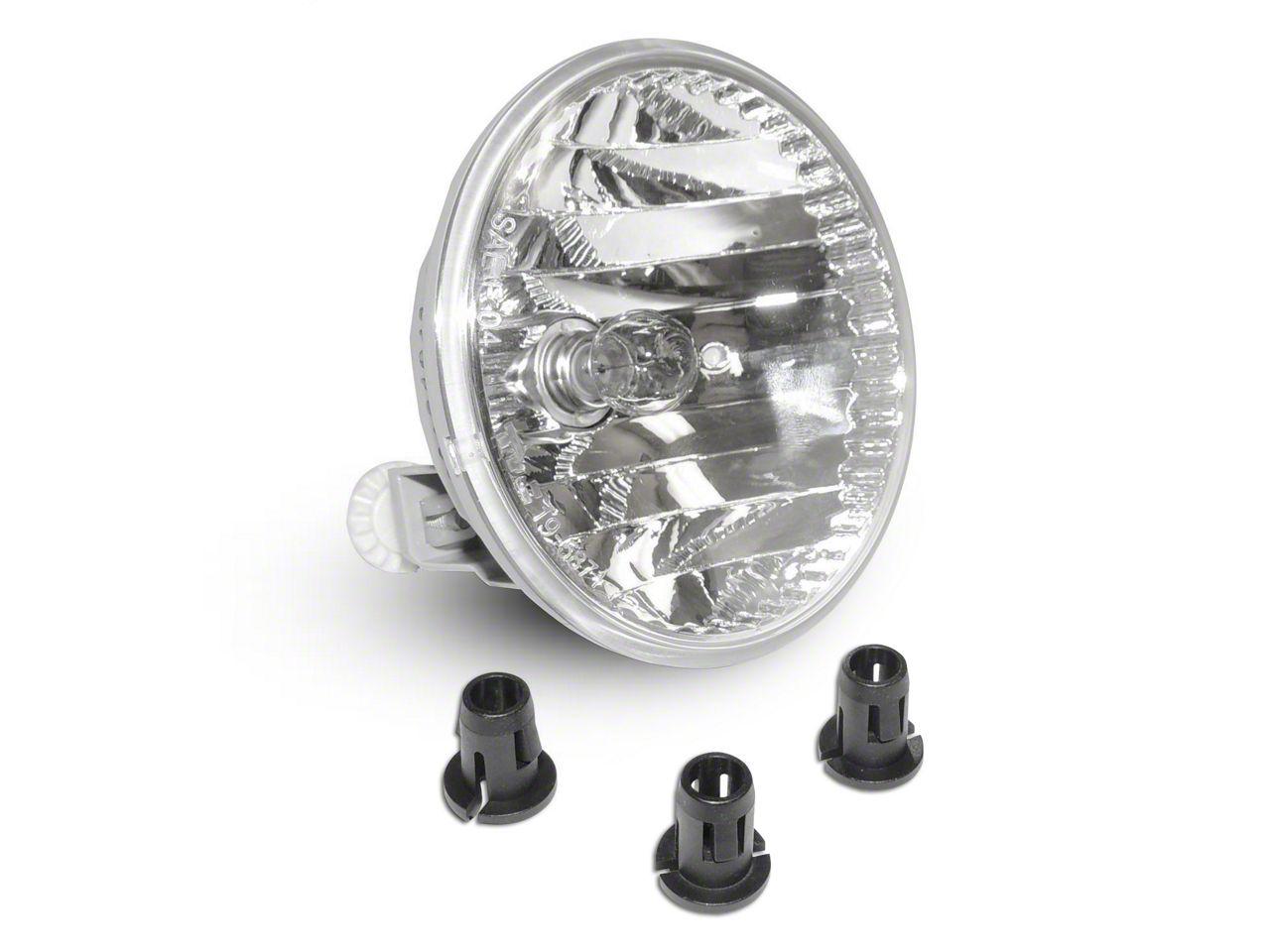 Omix-ADA Driver or Passenger Side Fog Light (13-18 Jeep Wrangler JK w/ OEM Steel Bumper)