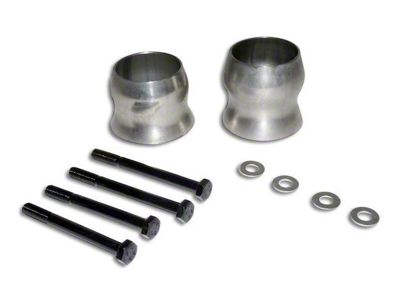 RT Off-Road Exhaust Spacer Kit for 2.5+ in. Lift (12-18 Jeep Wrangler JK)