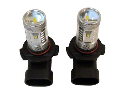RT Off-Road Fog Lamp LED Bulbs - H10 (07-09 Jeep Wrangler JK w/ OEM Plastic Bumper)
