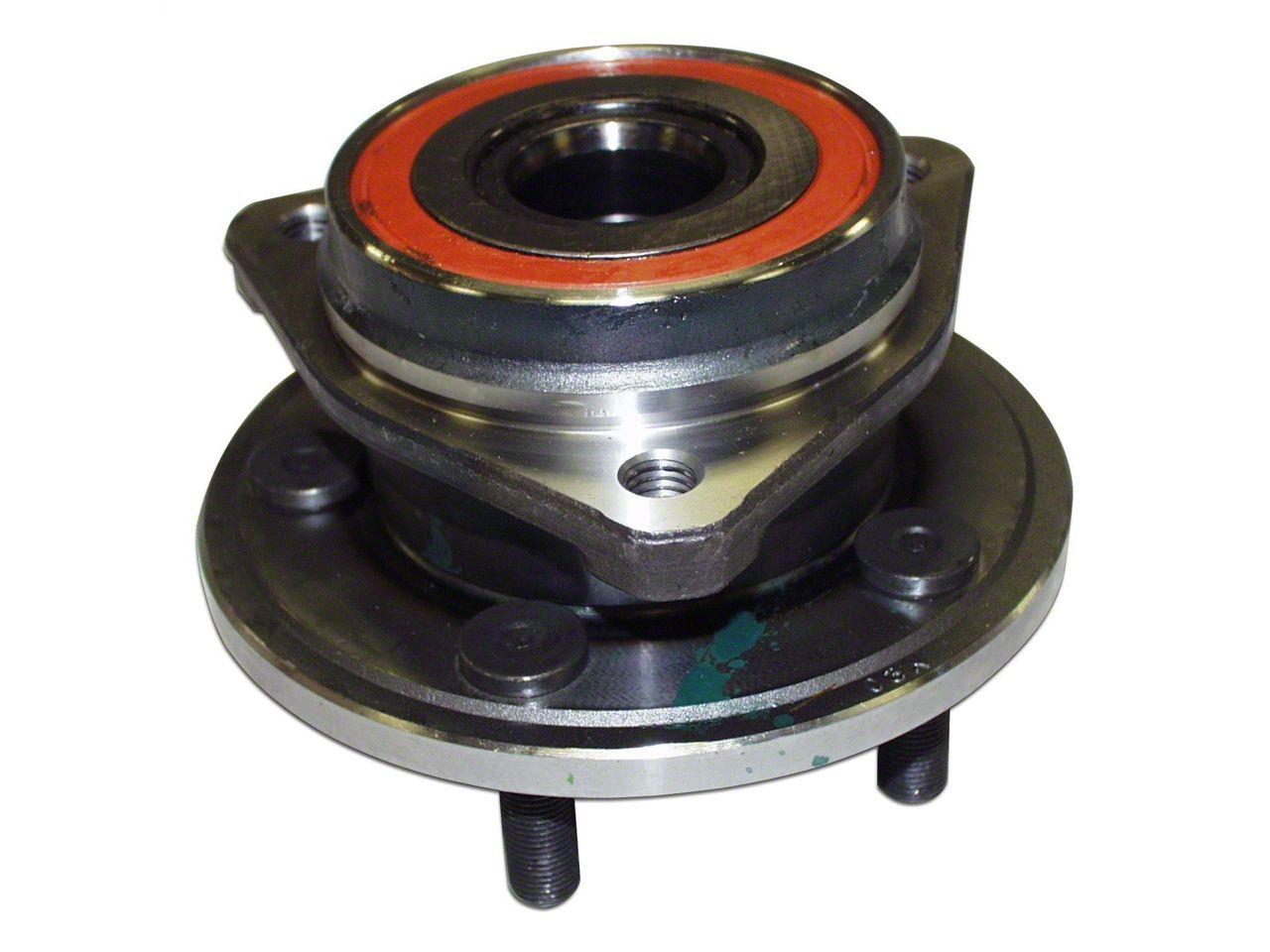 Omix-ADA Front Brake Hub Assembly (97-05 Jeep Wrangler TJ w/ 1-Piece Cast Rotor)