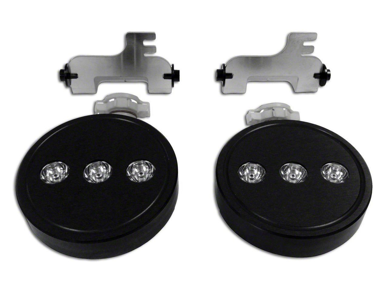 LED Fog Lamp Kit (10-18 Jeep Wrangler JK)