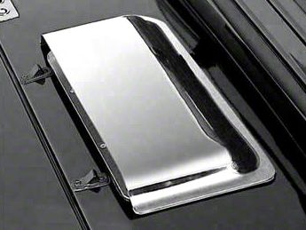 Rugged Ridge Chrome Air Scoop (87-06 Jeep Wrangler YJ & TJ)