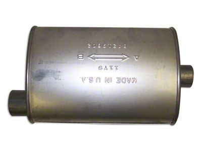 Replacement Muffler (87-90 4.2L Jeep Wrangler YJ)