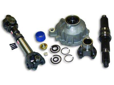 RT Off-Road Slip Yoke Eliminator & Shaft Kit (97-06 Jeep Wrangler TJ w/ NP231 Transfer Case, Excluding Unlimited)