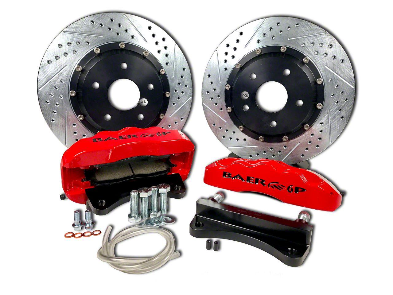 Baer Pro Plus Front Brake Kit - Red (07-18 Jeep Wrangler JK)