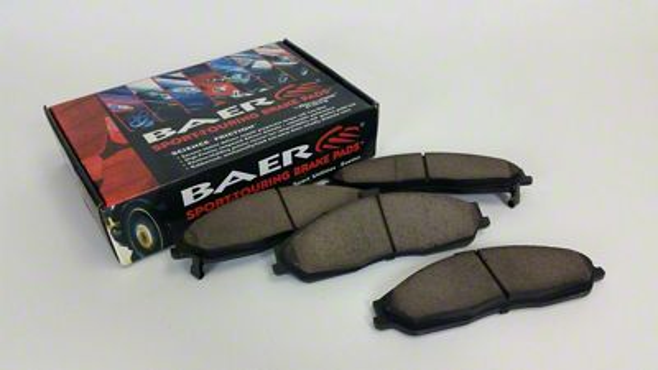 Baer Sport Brake Pads - Rear Pair (07-18 Jeep Wrangler JK)