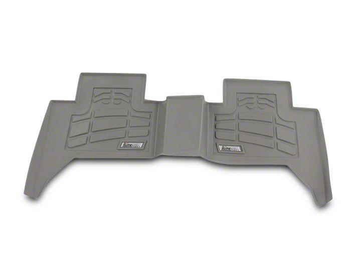 Wade Sure-Fit 2nd Row Floor Mat - Gray (07-13 Jeep Wrangler JK 4 Door)