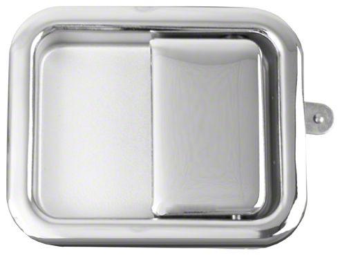 Omix-ADA Chrome Full Steel Door Paddle Handle (87-95 Jeep Wrangler YJ RH, 97-06 Jeep Wrangler TJ LH)