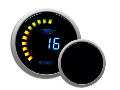 Prosport Digital 45 PSI Boost Gauge - Electrical (97-18 Jeep Wrangler TJ & JK)