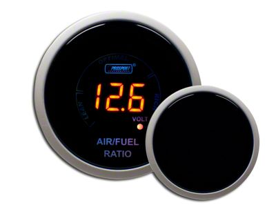 Prosport Digital Air Fuel Ratio & Volt Gauge - Electrical - Amber (97-18 Jeep Wrangler TJ, JK & JL)