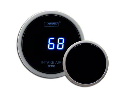 Prosport Digital Intake Temperature Gauge - Electrical - Blue (97-18 Jeep Wrangler TJ, JK & JL)