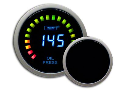 Prosport Digital Oil Pressure Gauge - Electrical (97-18 Jeep Wrangler TJ, JK & JL)