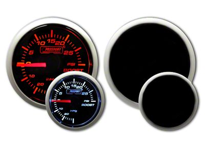 Prosport Dual Color 30 PSI Boost Gauge - Electrical - Amber/White (97-18 Jeep Wrangler TJ, JK & JL)