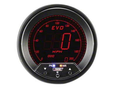 Prosport Quad Color Evo Speedometer - 85mm (97-18 Jeep Wrangler TJ, JK & JL)