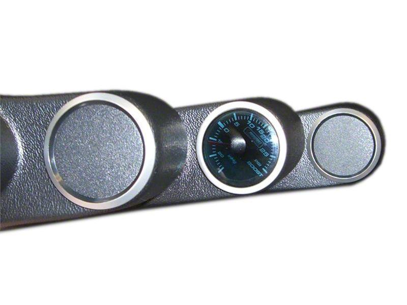 Prosport Gauge Blank - Silver (97-19 Jeep Wrangler TJ, JK & JL)