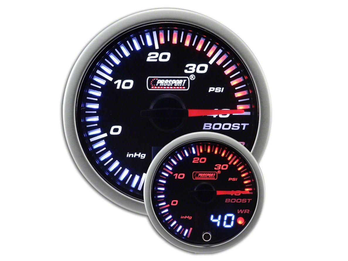 Prosport JDM Boost Pressure Gauge - Electrical (97-18 Jeep Wrangler TJ, JK & JL)