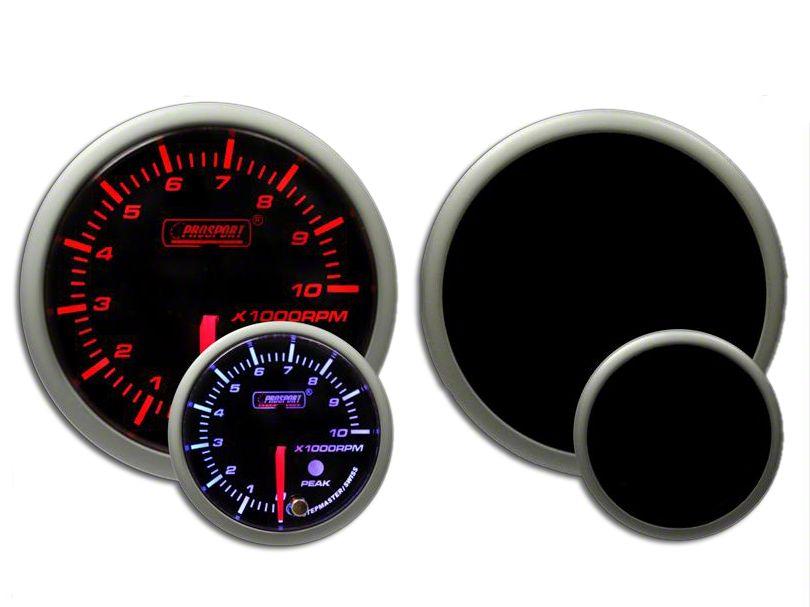 Prosport Dual Color Premium Dual Color Tachometer - Amber/White (97-18 Jeep Wrangler TJ, JK & JL)