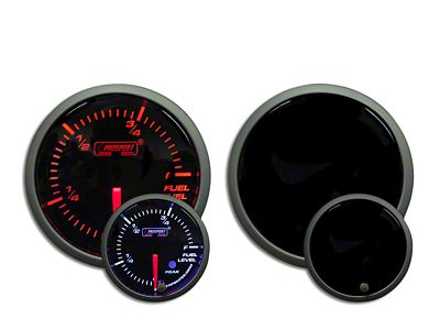 Prosport Dual Color Premium Fuel Level Gauge - Amber/White (97-18 Jeep Wrangler TJ, JK & JL)