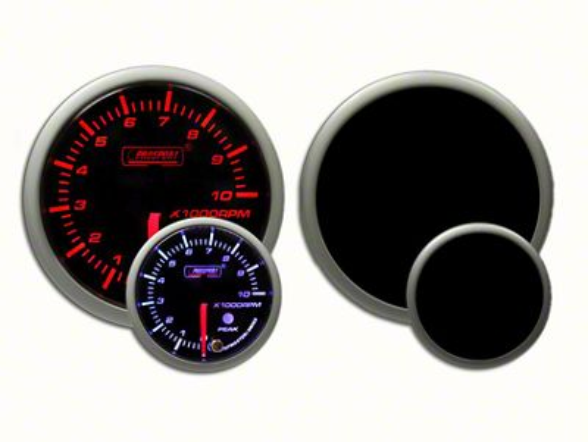 Prosport Dual Color Premium Tachometer - Amber/White (97-18 Jeep Wrangler TJ, JK & JL)