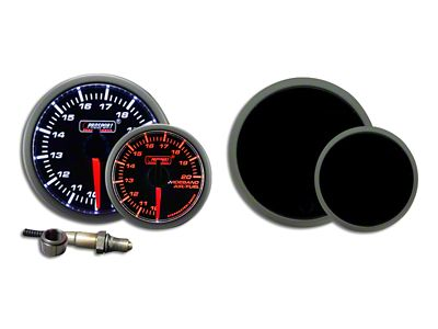 Prosport Dual Color Premium Wideband Air Fuel Ratio Kit - Amber/White (97-18 Jeep Wrangler TJ, JK & JL)