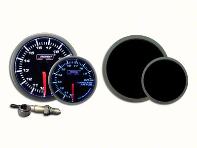 Prosport Dual Color Premium Wideband Air Fuel Ratio Kit - Blue/White (97-18 Jeep Wrangler TJ, JK & JL)