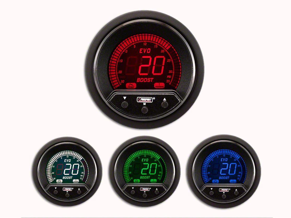 Prosport Premium Evo Exhaust Gas Temperature Gauge (97-18 Jeep Wrangler TJ, JK & JL)