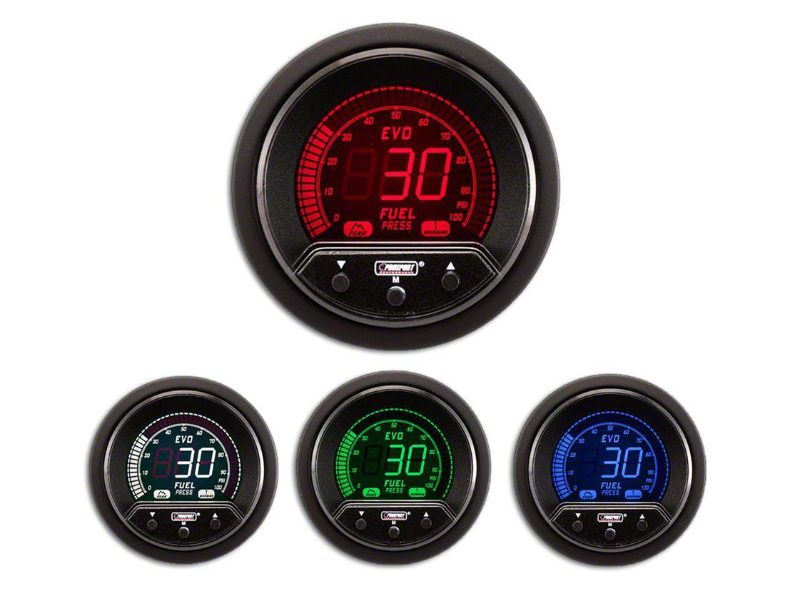Prosport Premium Evo Fuel Pressure Gauge (97-18 Jeep Wrangler TJ, JK & JL)