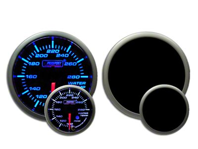Prosport Premium Water Temperature Gauge - Blue/White (97-18 Jeep Wrangler TJ, JK & JL)