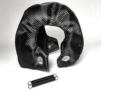 Prosport T4 Turbo Heat Shield Blanket - Carbon Fiber (97-18 Jeep Wrangler TJ, JK & JL)