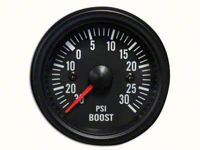 Prosport White LED Boost Gauge - Electrical (97-18 Jeep Wrangler TJ, JK & JL)