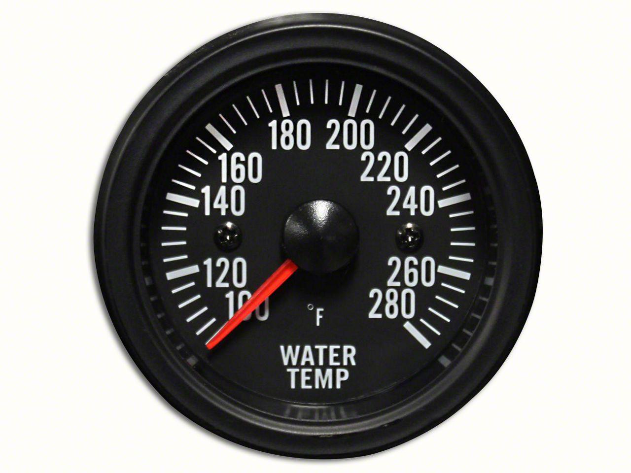 Prosport White LED Water Temperature Gauge - Electrical (97-19 Jeep Wrangler TJ, JK & JL)