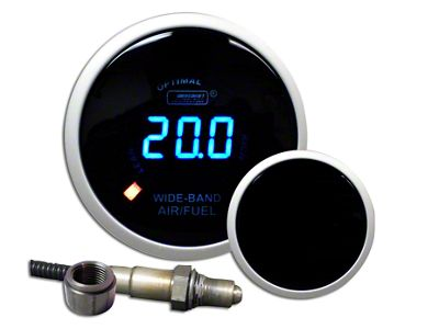 Prosport Digital Wideband Air Fuel Ratio Gauge - Blue (97-18 Jeep Wrangler TJ, JK & JL)