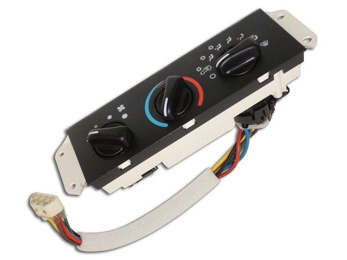 Omix-ADA HVAC Control Unit (99-01 Jeep Wrangler TJ w/ Air Conditioning)