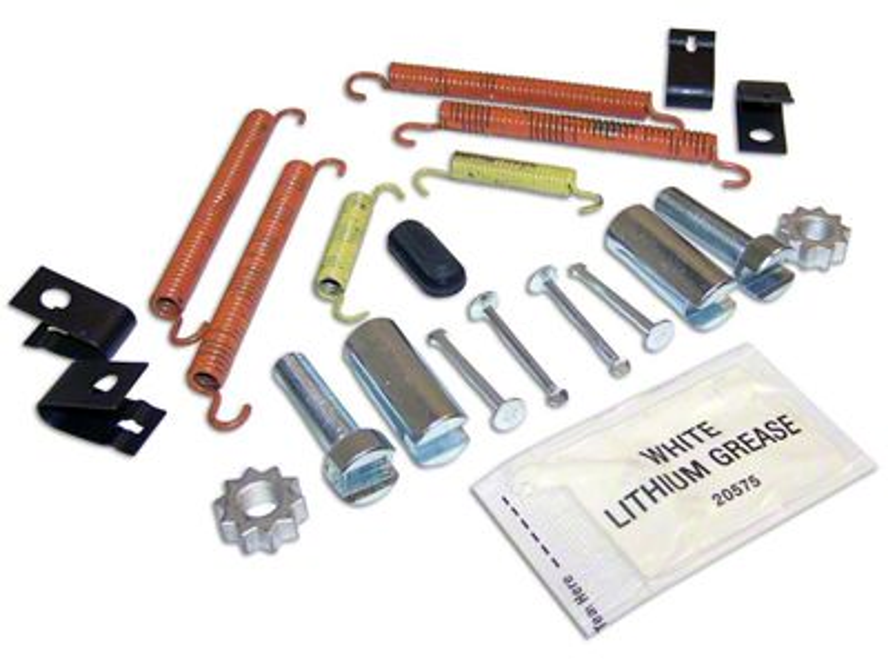 Crown Automotive Parking Brake Hardware Kit (07-18 Jeep Wrangler JK)