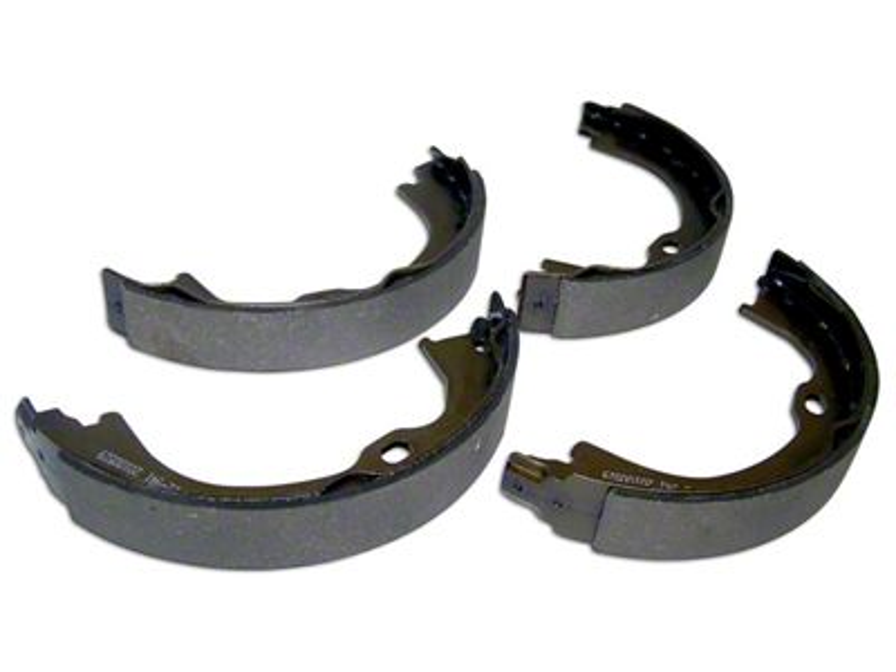 Omix-ADA Parking Brake Shoe & Lining Set (07-18 Jeep Wrangler JK)