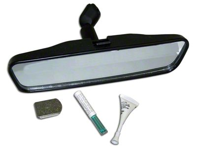 Vintage Rearview Mirror Kit (87-06 Jeep Wrangler YJ & TJ)