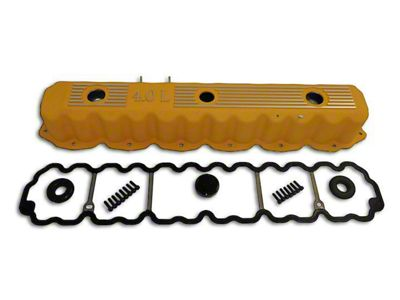 RT Off-Road Valve Cover Kit - Yellow (93-04 4.0L Jeep Wrangler YJ & TJ)