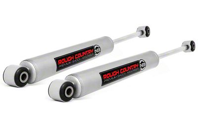 Rough Country Premium N3 Front Shock for 2.5-4 in. Lift (07-18 Jeep Wrangler JK)
